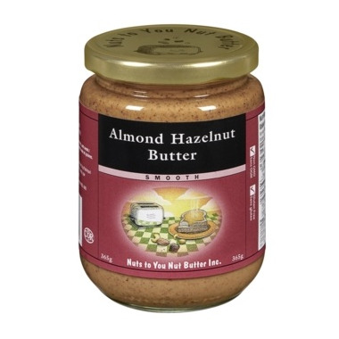 Nuts To You Smooth Almond Hazelnut Butter