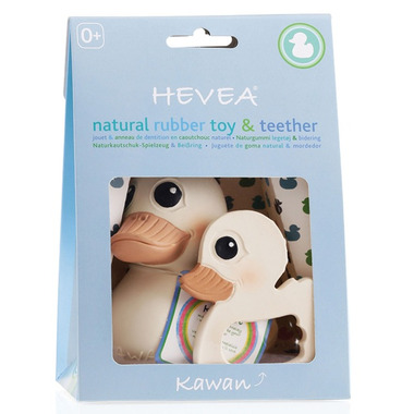 Hevea Kawan Combo Toy & Teether