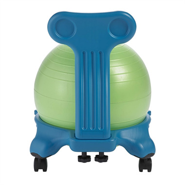 Gaiam Kids Classic Balance Ball Chair Blue & Green