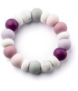 Little Cheeks Multi Ring Silicone Teether Elise