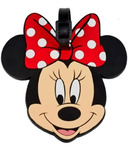 Disney Minnie Mouse Plastic Luggage Tag