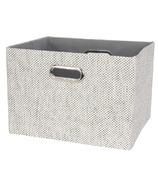Lambs & Ivy Foldable Storage Bin Gray