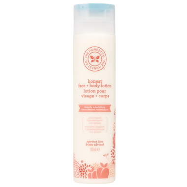 The Honest Company Face & Body Lotion in Apricot Kiss