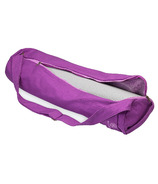 Gaiam Breathable Yoga Mat Bag Purple