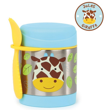 Skip Hop Zoo Insulated Food Jar Giraffe