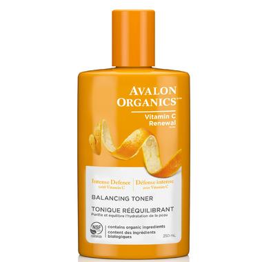 Avalon Organics Intense Defense Vitamin C Renewal Balancing Toner