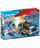 Playmobil City Action Helicopter Pursuit with Runaway