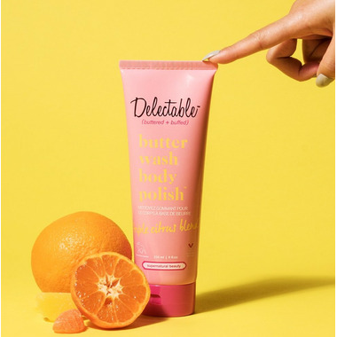 Cake Beauty Delectable by Cake Beauty Triple Citrus Blend Butter Wash Body Polish