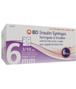 BD Ultra-Fine 0.3ML 31G 6MM Syringe