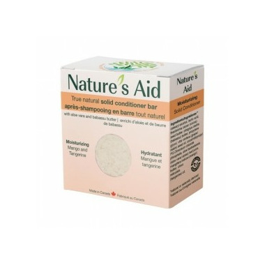 Nature\'s Aid Solid Conditioner Mango Tangerine