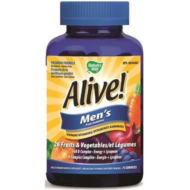 Nature\'s Way Alive Men\'s Gummy Vitamins
