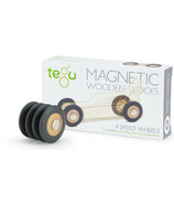 Tegu Magnetic Wooden Wheels Set