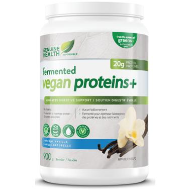 Genuine Health Fermented Vegan Proteins+ Natural Vanilla Large Pack