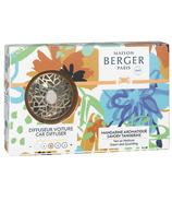 Maison Berger Paris Revelry Collection Car Diffuser Savory Tangerine