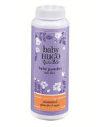 Baby Hugo Naturals Unscented Baby Powder