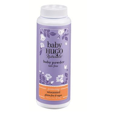 Baby Hugo Naturals Unscented Baby Powder