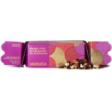DAVIDsTEA Tea-Filled Party Cracker Sleigh Ride