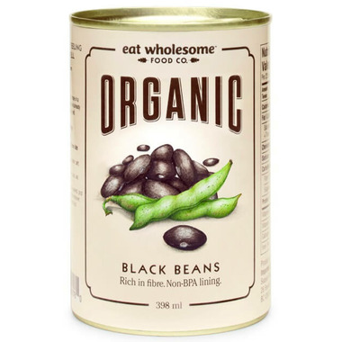 Eat Wholesome Organic Black Beans