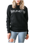 Brunette The Label Brunette Crewneck Black