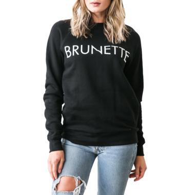 Brunette The Label Brunette Crewneck Black