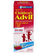 Advil Children's Suspension Dye Free Blue Rasberry