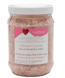 Heartfelt Living Himalayan Crystal Bath Salts Wild Flower