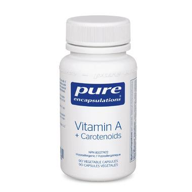 Pure Encapsulations Vitamin A + Carotenoids