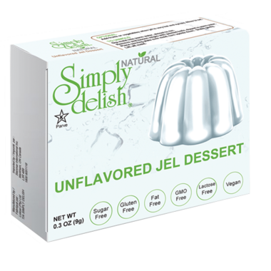 Simply Delish Unflavoured Jel Dessert