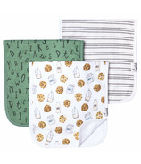 Copper Pearl Chip Burp Cloths