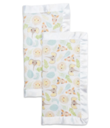Lulujo Security Blankets Muslin Cotton Jungle Safari