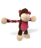 Charming Pet Products Pulleez Monkey Dog Toy