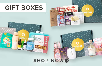 Shop Well.ca Holiday Gift Boxes