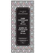Galerie au Chocolat Barre de chocolat noir 72% Cacao