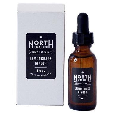 North Standard Trading Post Beard Oil Lemongrass Ginger