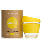 JOCO Glass Reusable Coffee Cup in Lemon