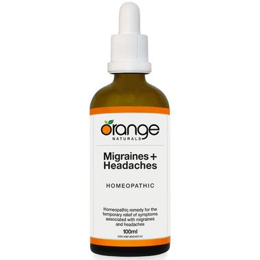 Orange Naturals Migraines + Headaches