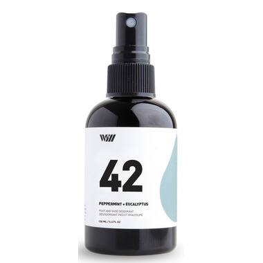 Way Of Will 42 Foot and Shoe Spray Peppermint + Eucalyptus