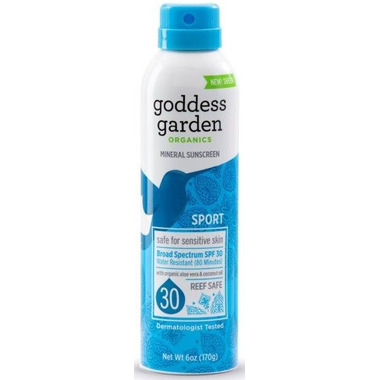 Goddess Garden Sport Continuous Spray Sunscreen SPF 30