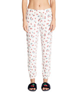P.J. Salvage Mon Cheri Banded Pant Ivory Cherries