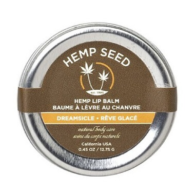 Earthly Body Hemp Lip Balm Dreamsicle