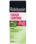 Robitussin DM Cough Control for People with Diabetes