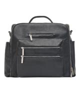 The Honest Company Cross Country Diaper Bag Black