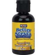 NOW BetterStevia Liquid Sweetener Lemon Twist