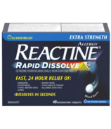 Reactine Extra Strength Rapid Dissolve 24 Hour Allergy Medicine