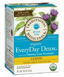 Traditional Medicinals Organic Lemon Everyday Detox Tea