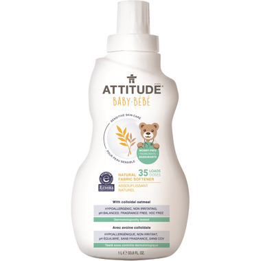 ATTITUDE Natural Fabric Softener for Baby