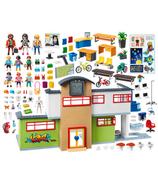 Bâtiment scolaire meublé City Life de Playmobil