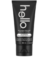 Hello Activated Charcoal Fluoride Toothpaste