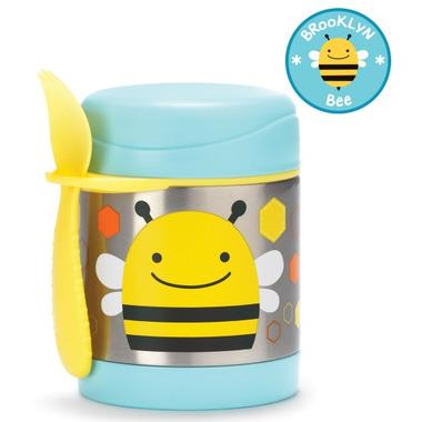 Skip Hop Zoo Insulated Food Jar Bee