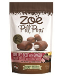 Zoe Pill Pops Grilled Beef with Ginger